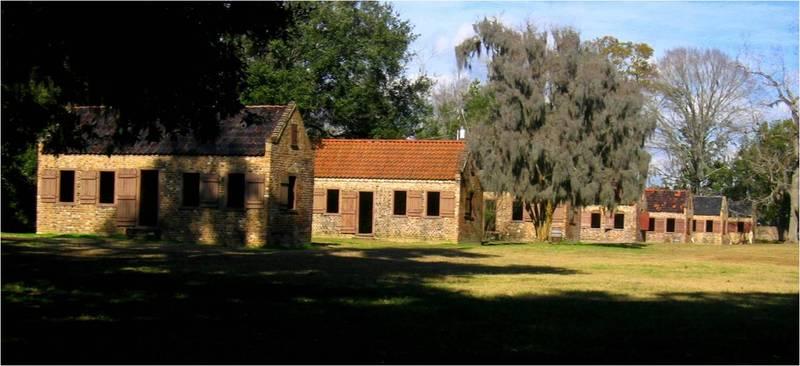 Boone Hall Slave Cabins