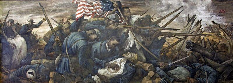 54th Massachusetts assault on Battery Wagner