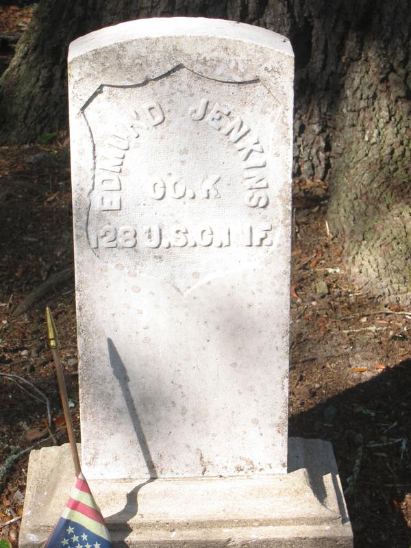 Edmund Jenkins Tomb Stone