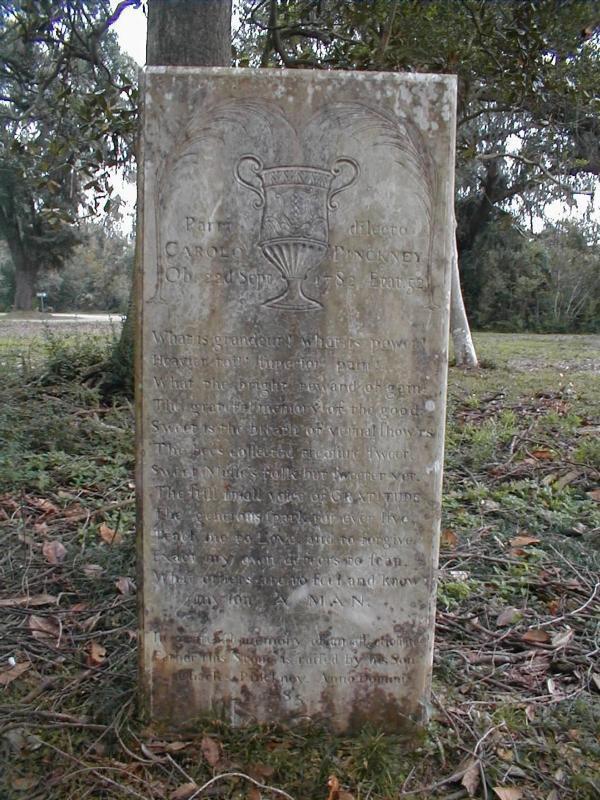 Pinckney Cenotaph