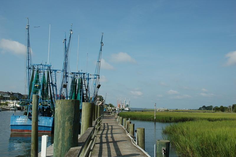 Shem Creek Dock