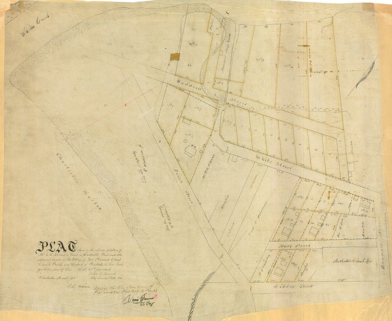 1860 Ferry tract plat