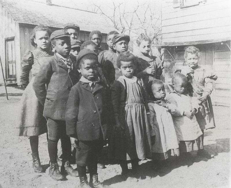 Mount Pleasant Home for Destitute Children, circa 1900